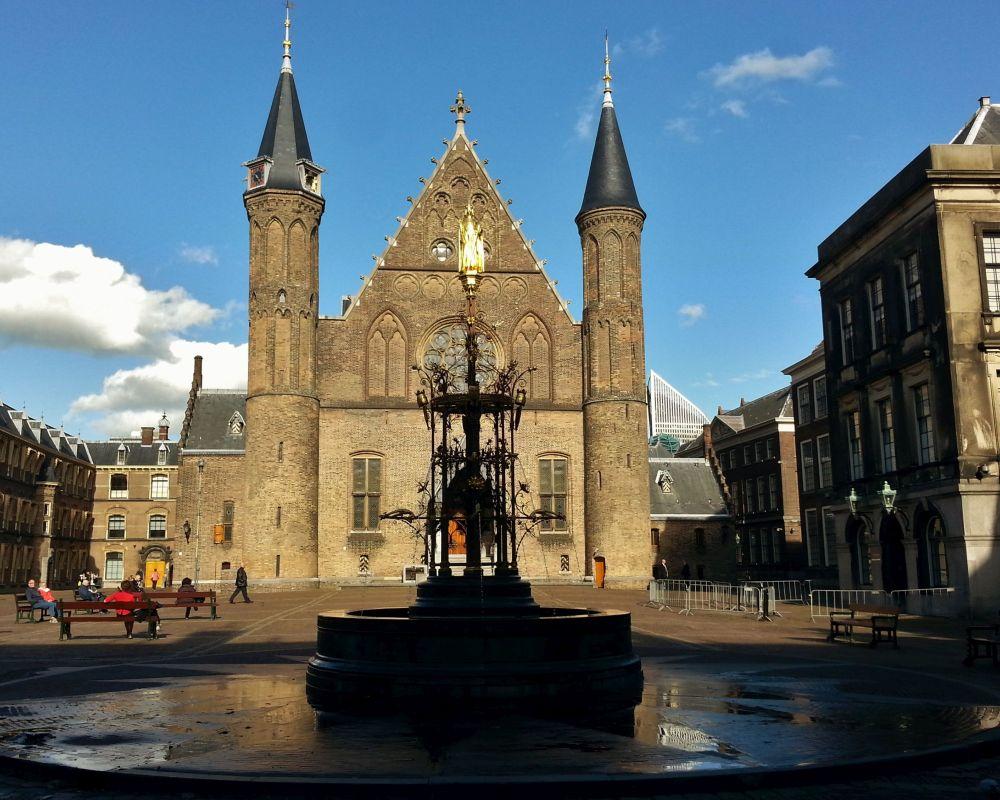Rondleiding: Het Binnenhof in WO2