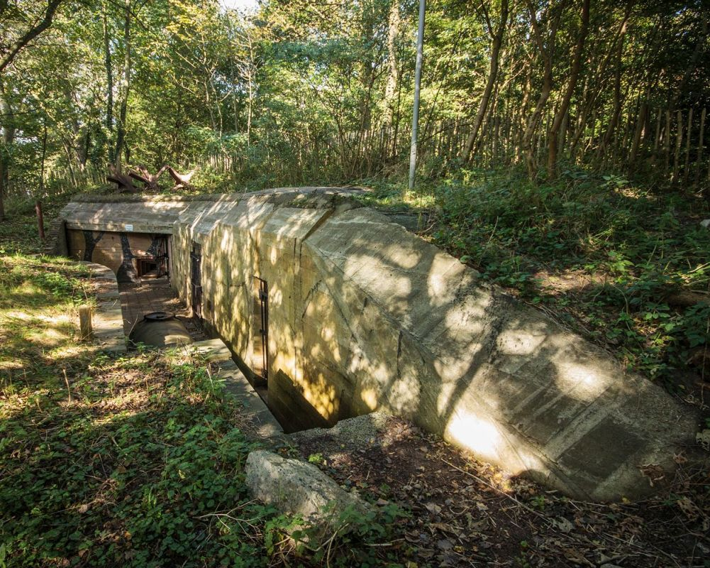 Openstelling bunkers Scheveningen